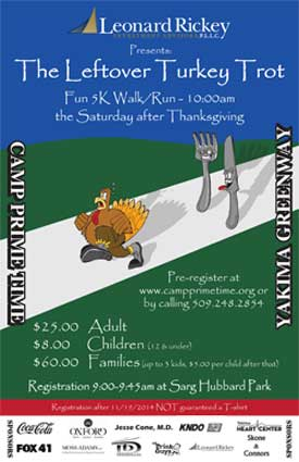 5th Annual Leftover Turkey Trot