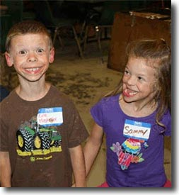 Happy Kids at Camp
